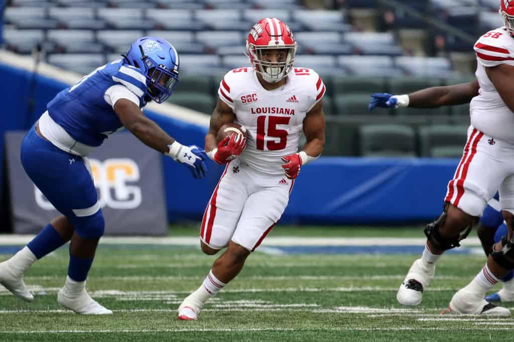 Elijah Mitchell, RB, Louisiana-Lafayette - NFL Draft Player Profile