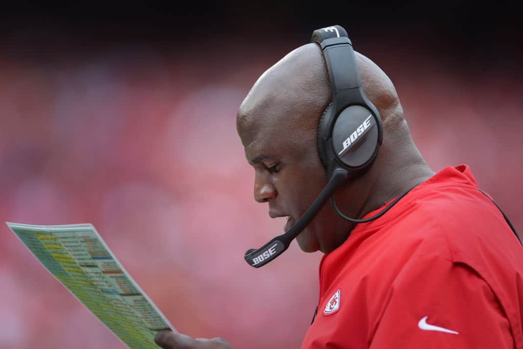 Chiefs Offensive Coordinator Eric Bieniemy Coaching Profile: Prior experience and interest rumors for 2021