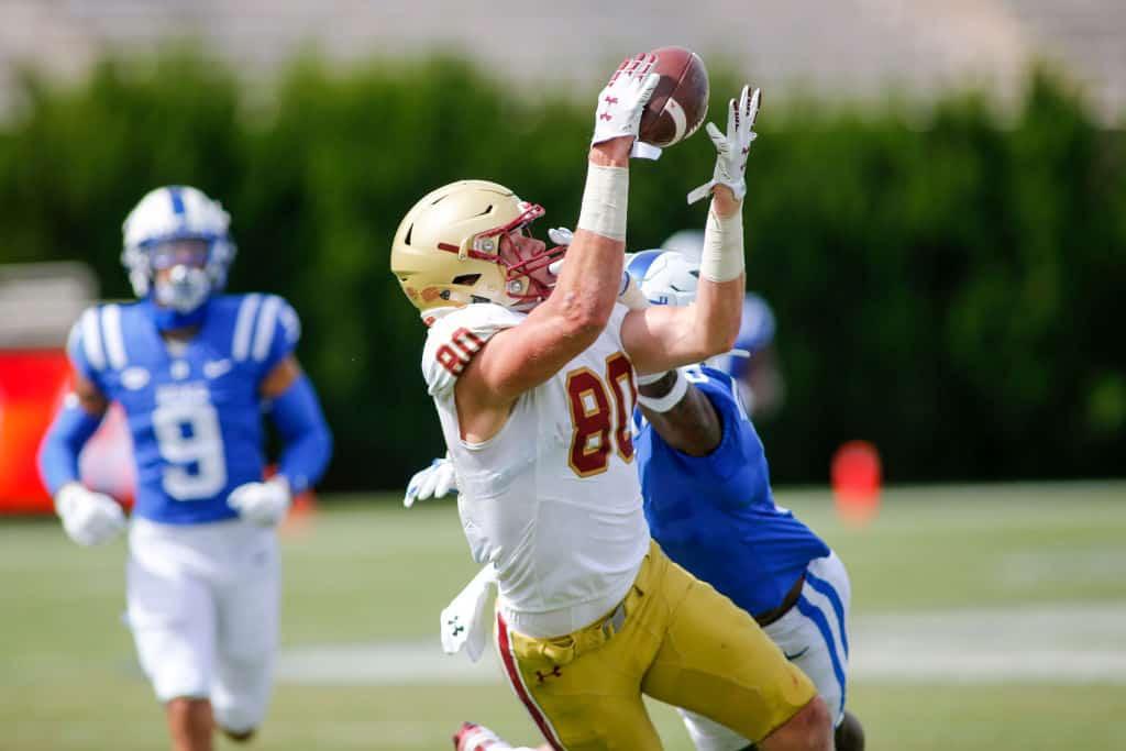 Hunter Long, TE, Boston College - NFL Draft Player Profile