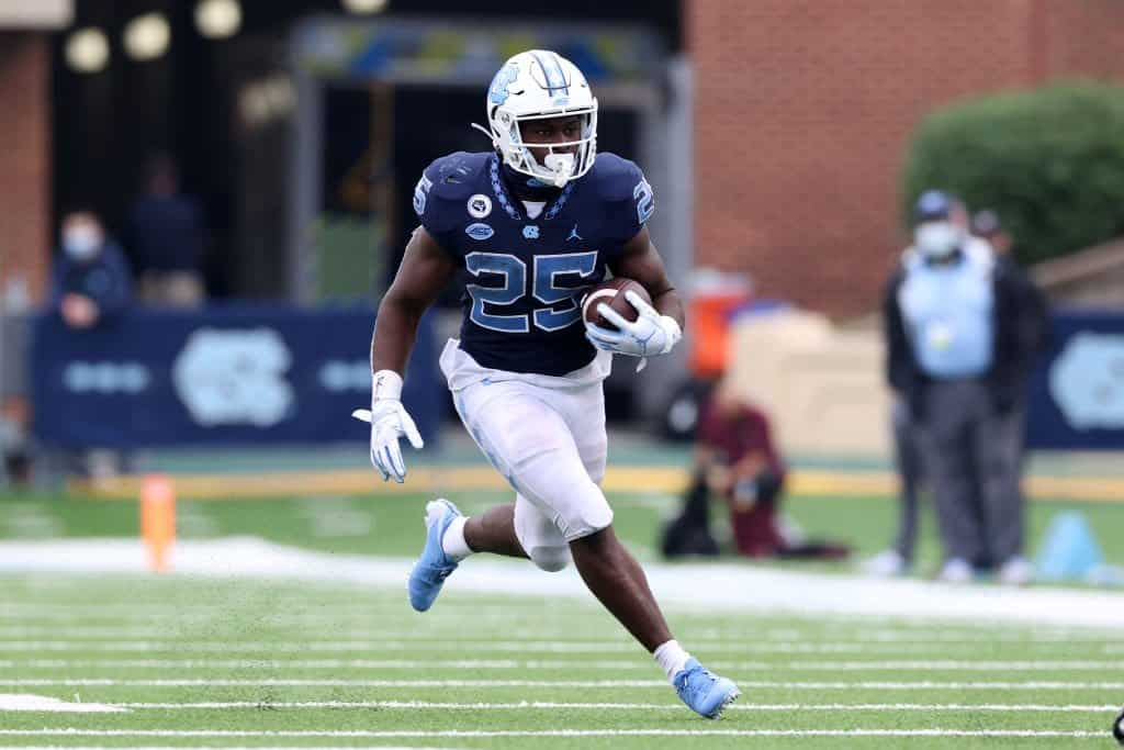 Javonte Williams, RB, North Carolina - NFL Draft Player Profile