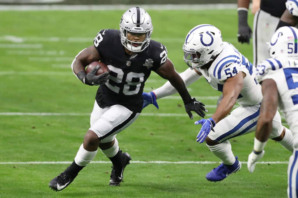 Josh Jacobs Fantasy Outlook: What to expect tonight vs. Chargers