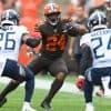 NFL DFS Picks Week 13: Nick Chubb, Browns / Titans bring value this week and fantasy game stacks