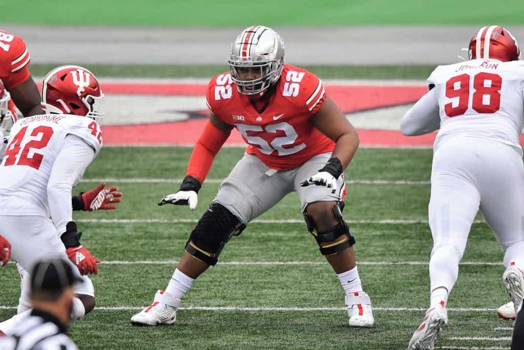 NFL Draft Stock Week 14: Risers include Ohio State OL Wyatt Davis