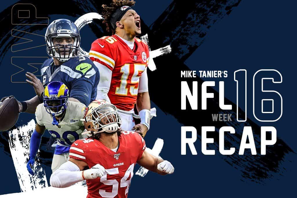 NFL Week 16 Recap: Ryan Fitzpatrick, Kansas City Chiefs highlight NFL action