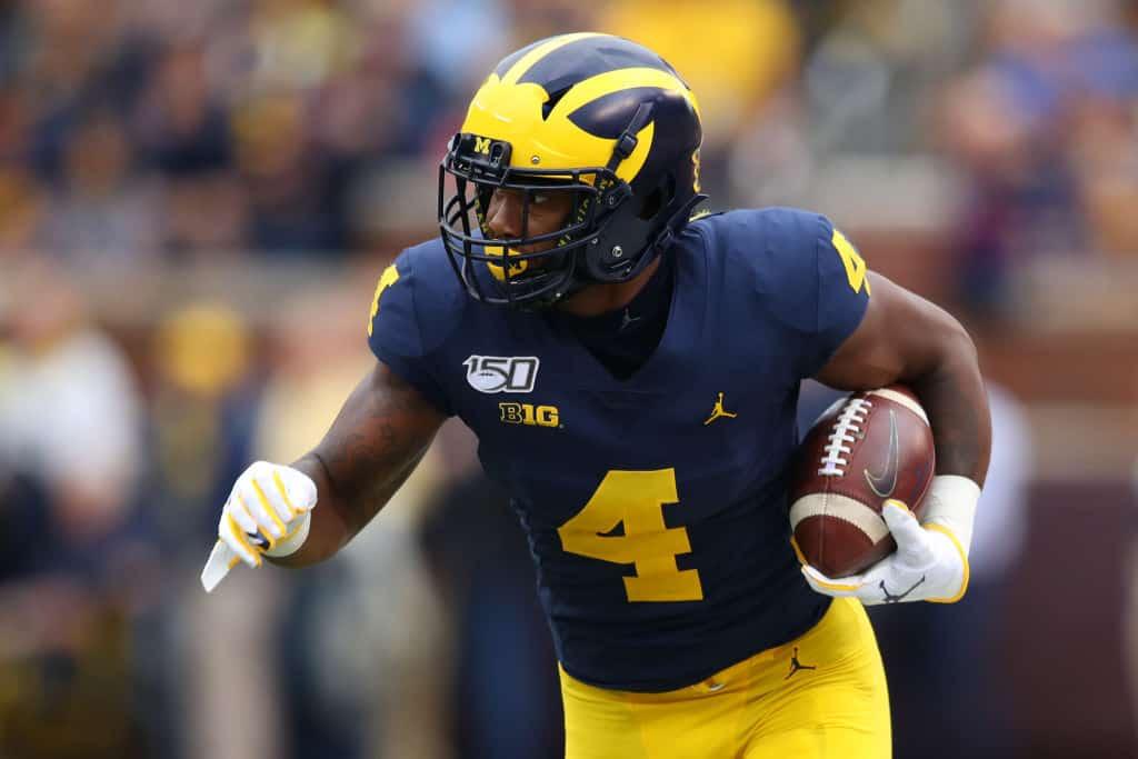 Nico Collins, Wide Receiver, Michigan - NFL Draft Player Profile