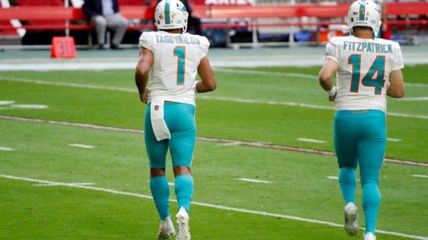 The Tua Tagovailoa/Ryan Fitzpatrick non-controversy as Dolphins starting QB has a unique historic precedent