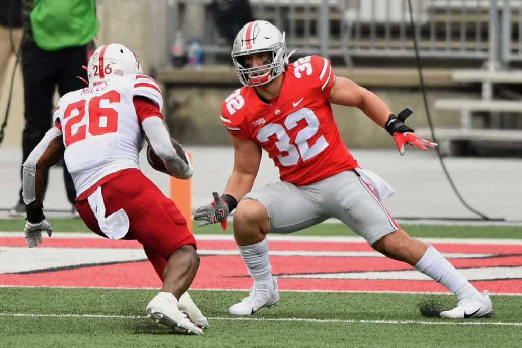 Tuf Borland, LB, Ohio State - NFL Draft Player Profile