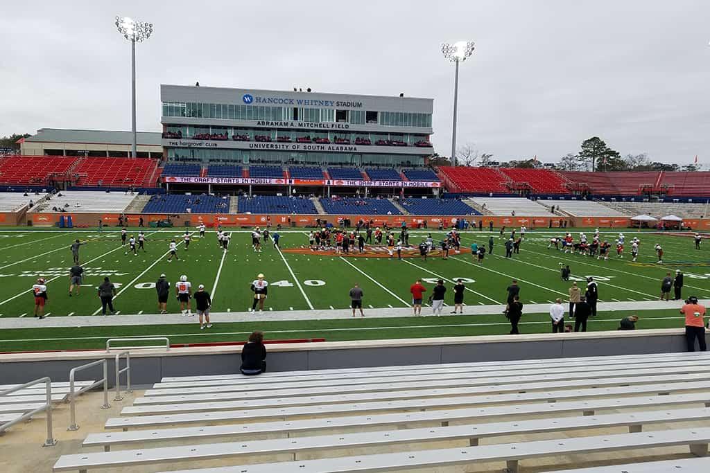 2021 Senior Bowl Practice Report: National Team