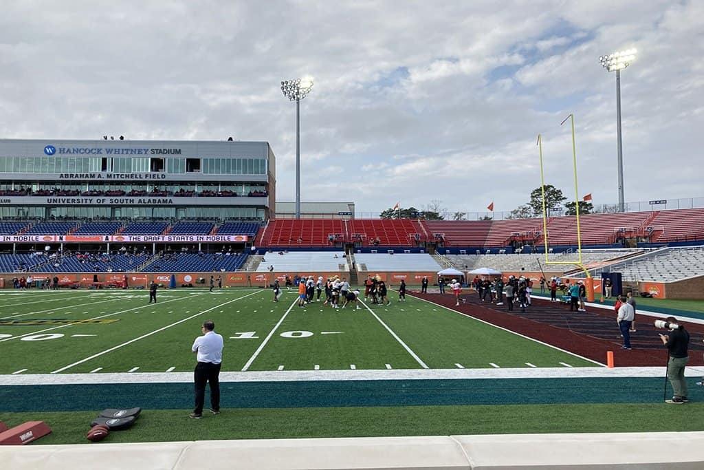 2021 Senior Bowl Practice Report: American Team