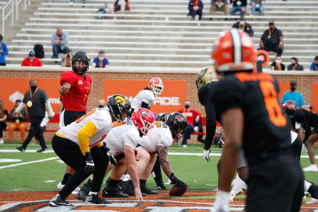 NFL Draft Stock Report: Who is rising at the 2021 Senior Bowl?