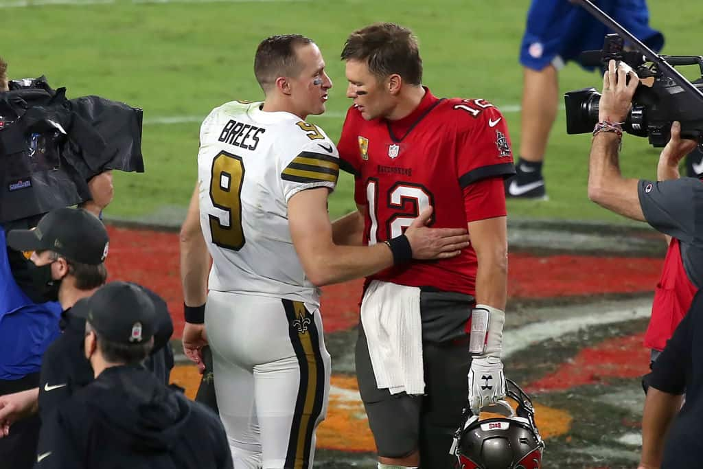 NFL Divisional Round Predictions Against the Spread Can Drew Brees get the better of Tom Brady again