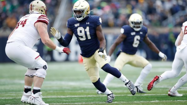Adetokunbo Ogundeji, DE, Notre Dame - NFL Draft Player Profile