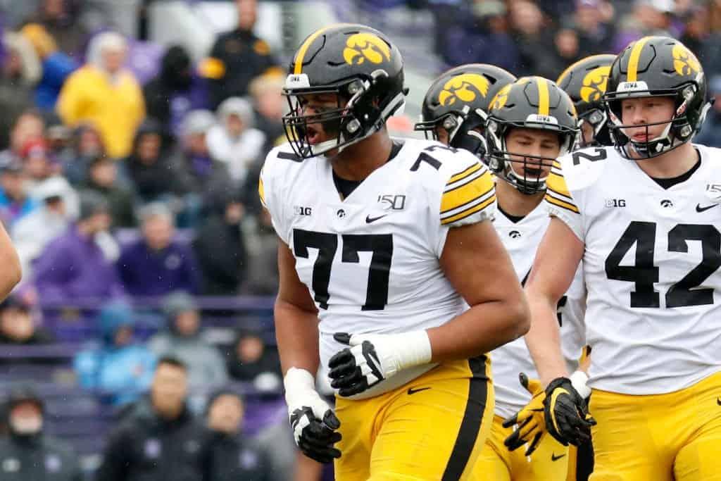 Alaric Jackson, OT, Iowa - NFL Draft Player Profile