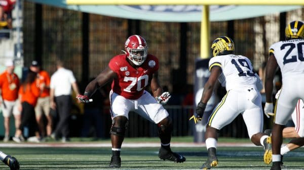 Alex Leatherwood, Offensive Tackle, Alabama - NFL Draft Player Profile