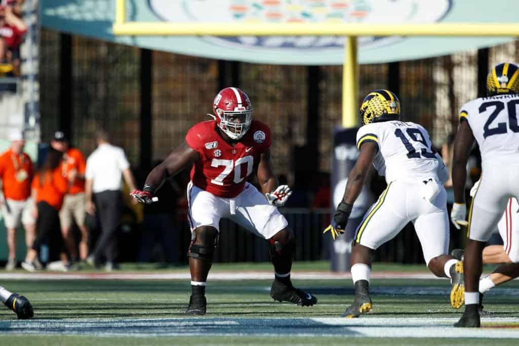 Alex Leatherwood, Offensive Tackle, Alabama - NFL Draft Player Profile