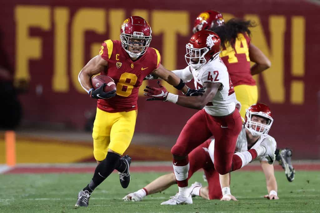 Amon-Ra St. Brown, Wide Receiver, USC - NFL Draft Player Profile