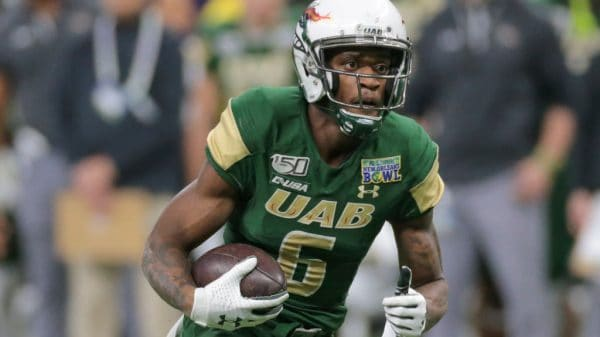 Austin Watkins Jr., Wide Receiver, UAB - NFL Draft Player Profile