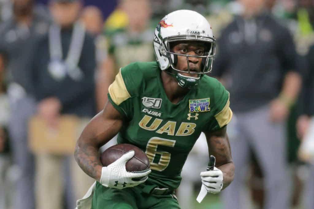 Austin Watkins Jr., Wide Receiver, UAB - NFL Draft Player Profile