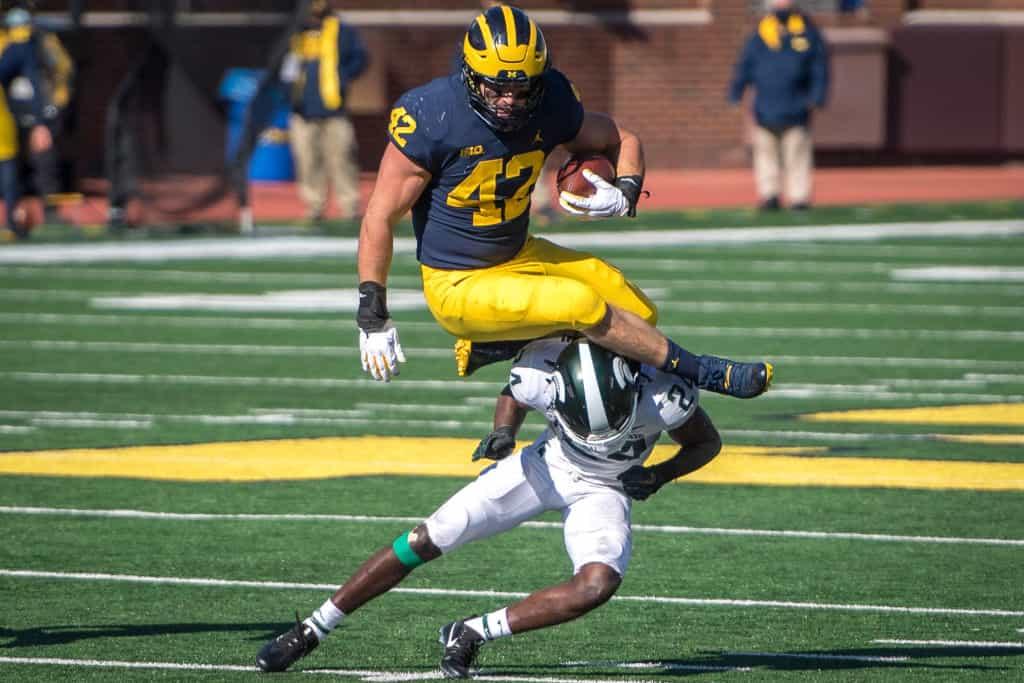 Ben Mason, RB, Michigan - NFL Draft Player Profile