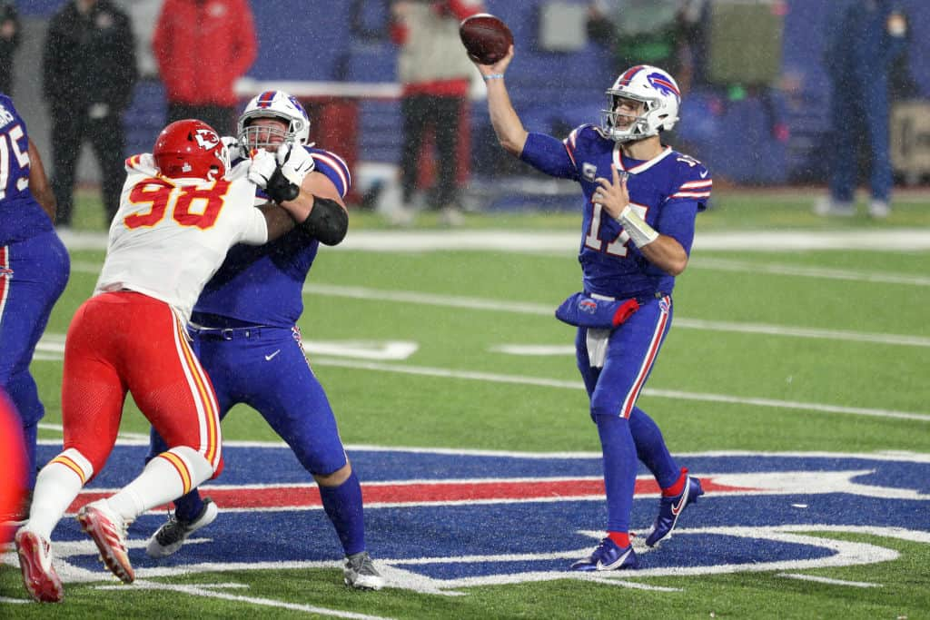 Bills vs. Chiefs lines, spreads, and predictions for 2021 AFC Championship game