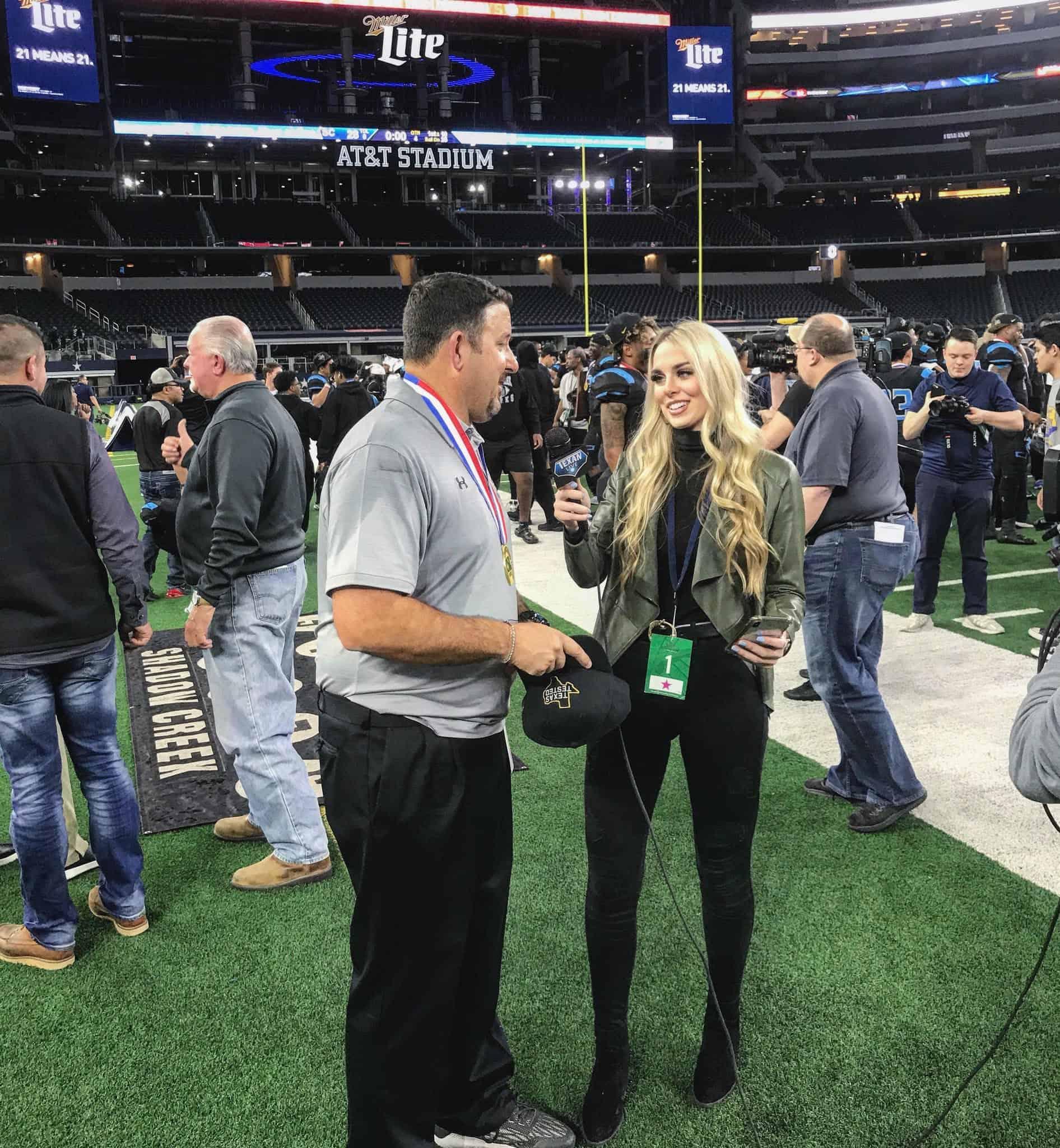 Women in Sports: Breanna Bryson rising as Texas High School Sports reporter