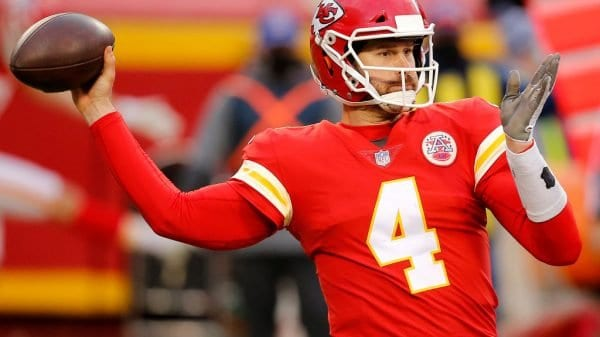 Chad Henne and his time as Chiefs backup QB, NFL starter