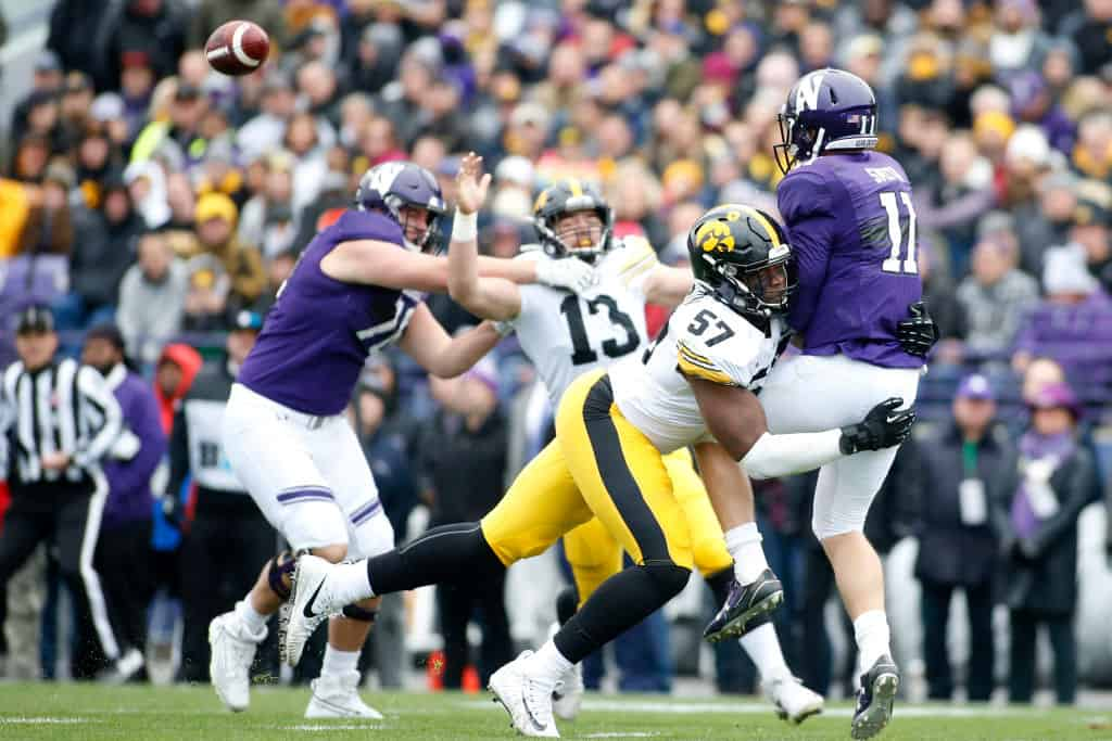 Chauncey Golston, Defensive Lineman, Iowa - NFL Draft Player Profile
