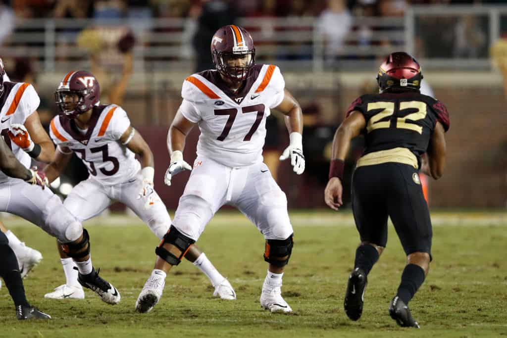 Christian Darrisaw, Offensive Tackle, Virginia - NFL Draft Player Profile