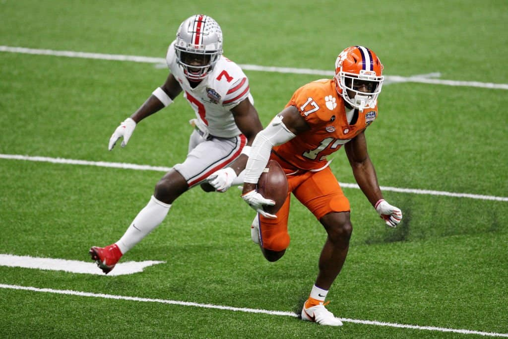 Cornell Powell, Wide Receiver, Clemson - NFL Draft Player Profile