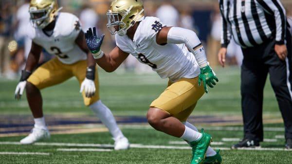 Daelin Hayes, EDGE, Notre Dame - NFL Draft Player Profile