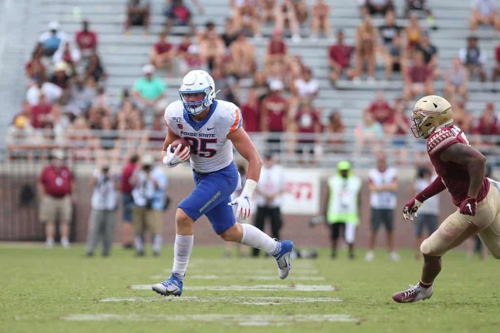 John Bates, TE, Boise State – NFL Draft Player Profile