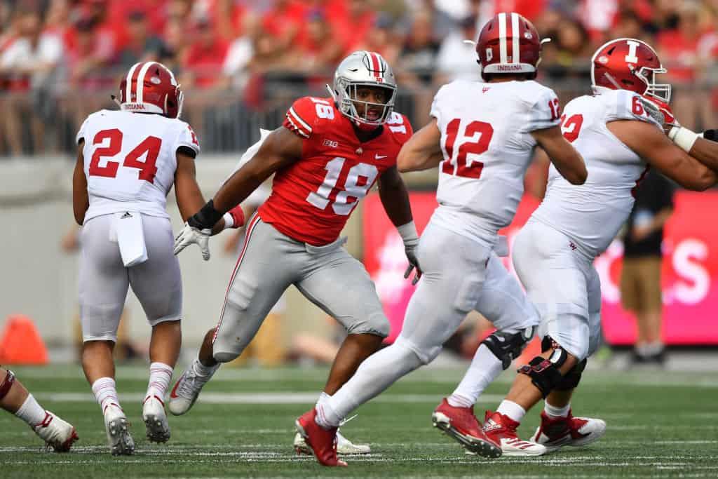 Jonathon Cooper, EDGE, Ohio State - NFL Draft Player Profile