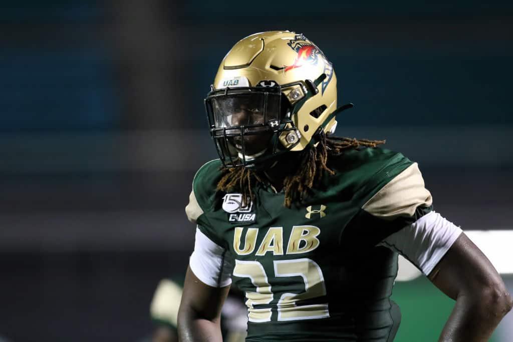 Jordan Smith, LB, UAB - NFL Draft Player Profile
