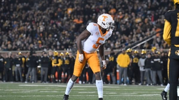 Josh Palmer, Wide Receiver, Tennessee - NFL Draft Player Profile