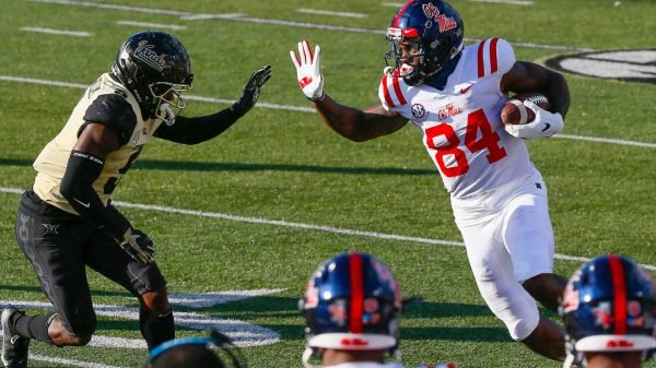Kenny Yeboah, TE, Ole Miss - NFL Draft Player Profile