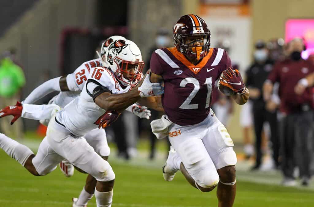 Khalil Herbert, RB, Virginia Tech - NFL Draft Player Profile