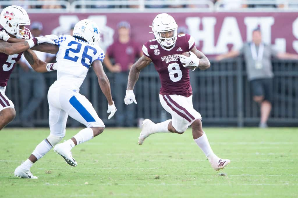 Kylin Hill, RB, Mississippi State - NFL Draft Player Profile
