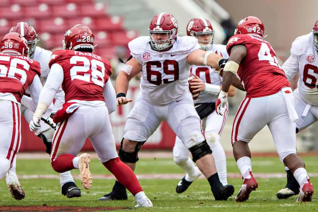 Landon Dickerson, OC, Alabama - NFL Draft Player Profile