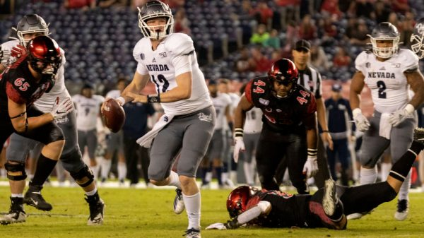 Nevada QB Carson Strong not declaring for 2021 NFL Draft