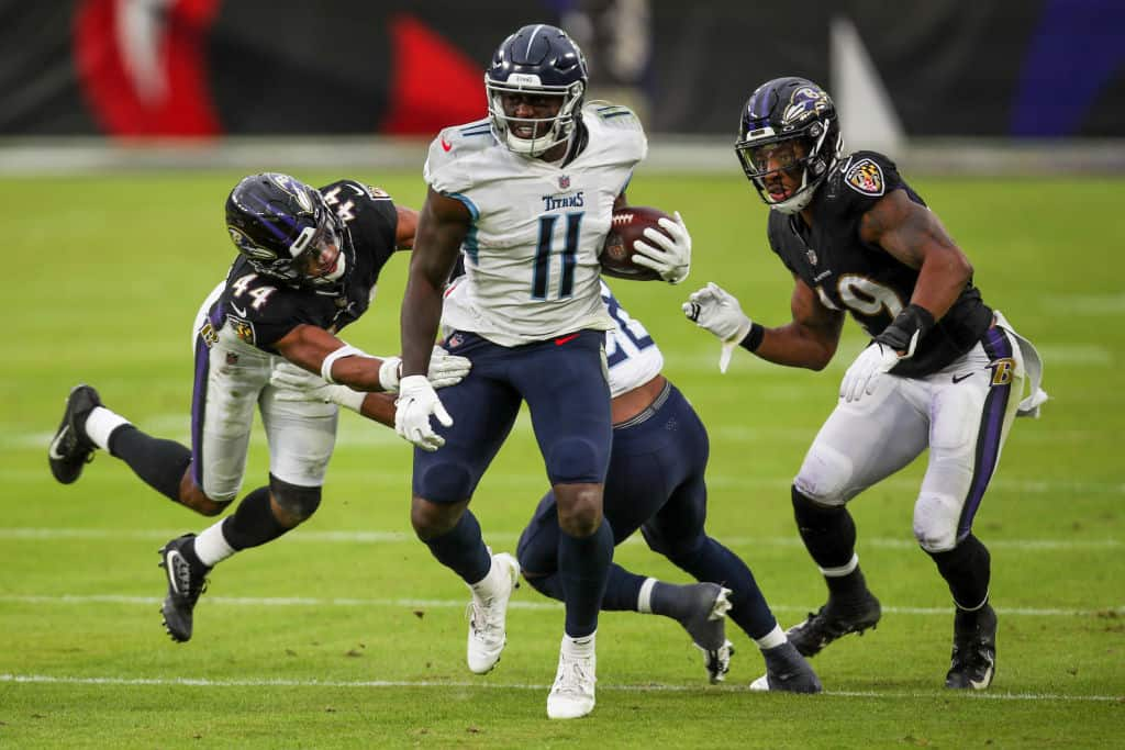 NFL Playoff Preview: Baltimore Ravens at Tennessee Titans