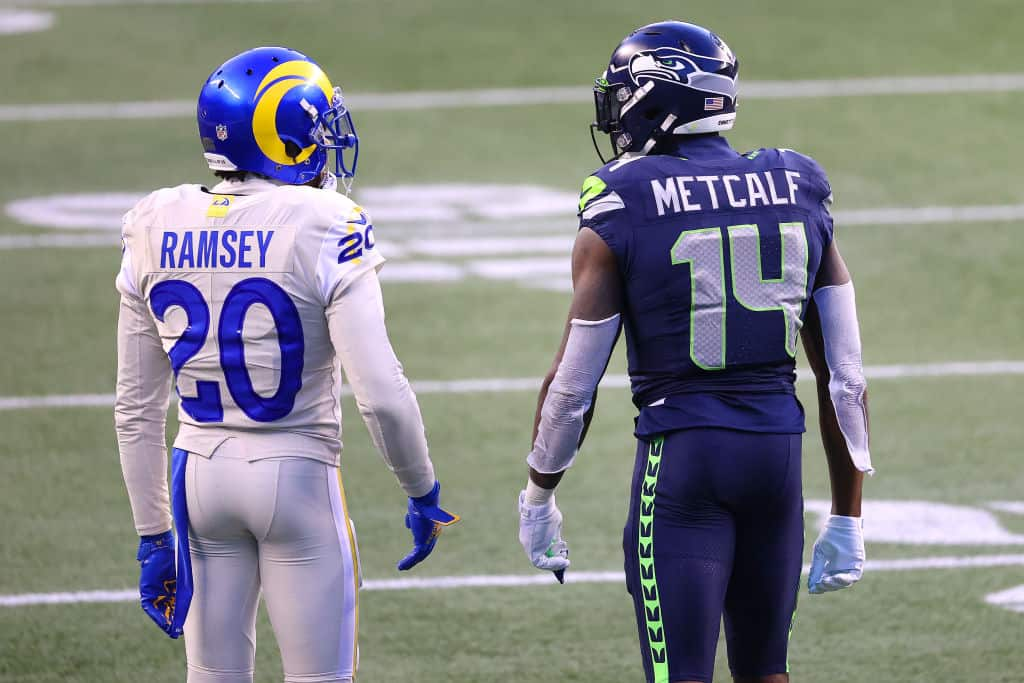 NFL Playoff Preview: Los Angeles Rams at Seattle Seahawks