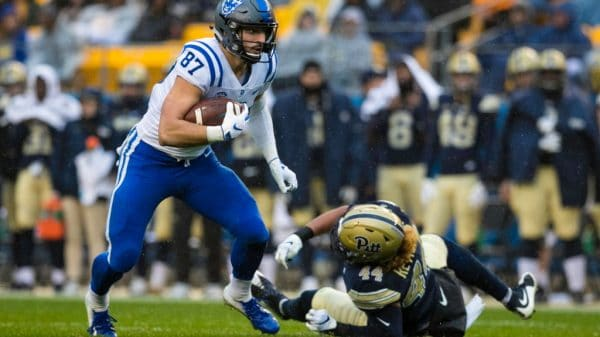 Noah Gray, tight end, Duke - NFL Draft Player Profile