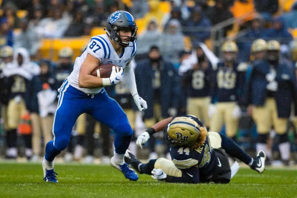 Noah Gray, tight end, Duke - NFL Draft Player Profile