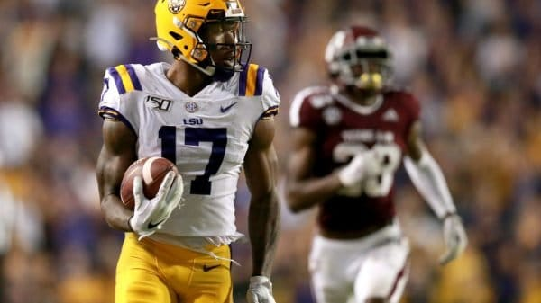 Racey McMath, Wide Receiver, LSU - NFL Draft Player Profile