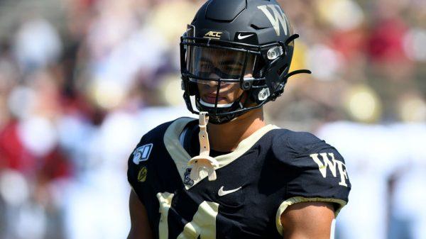 Sage Surratt, WR, Wake Forest - NFL Draft Player Profile