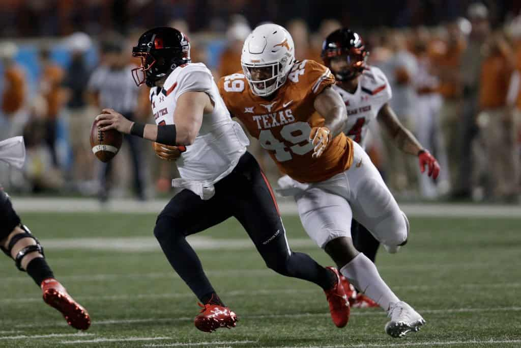 Ta'Quon Graham, Defensive Tackle, Texas - NFL Draft Player Profile