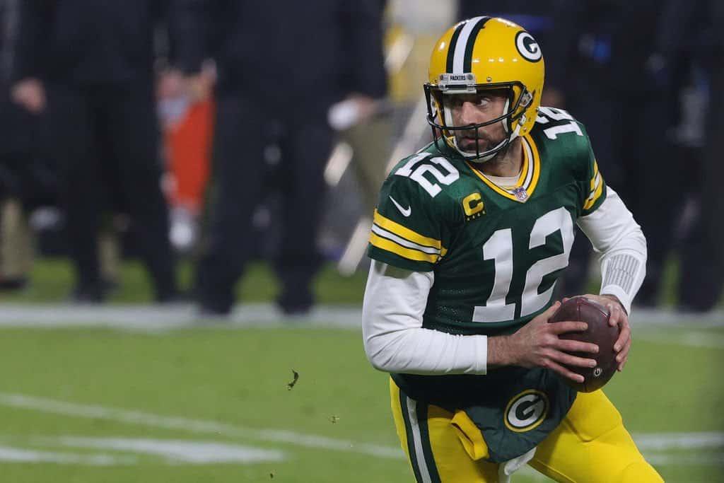 2020 NFL MVP Award Winner: Aaron Rodgers, Green Bay Packers