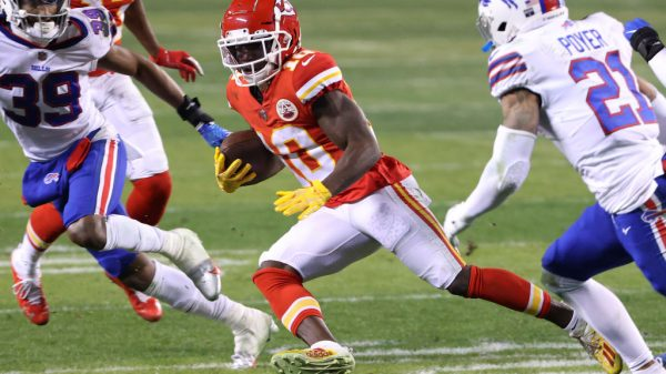Can Tyreek Hill continue his impressive performances in the NFL playoffs?