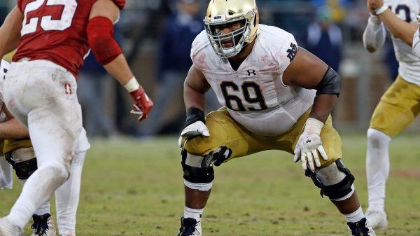 Aaron Banks, OG, Notre Dame - NFL Draft Player Profile