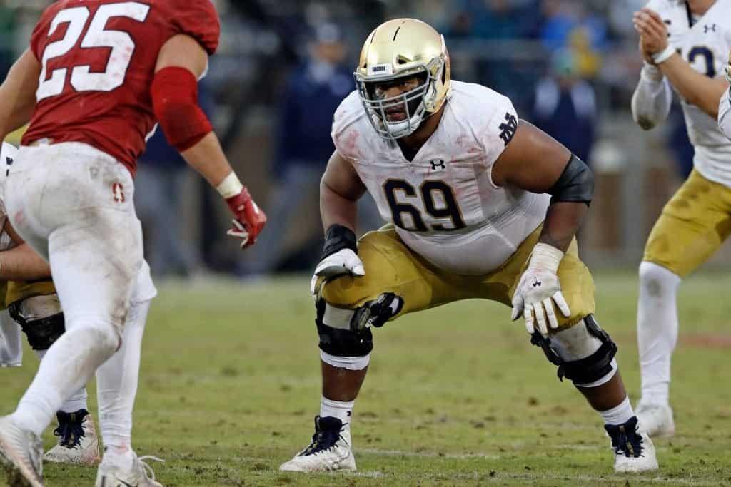 Aaron Banks, OG, Notre Dame - NFL Draft Player Profile